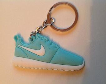 Nike Roshe run Keychain Keychain turquoise