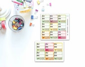 Monthly Slimming World / Weight Loss Planner Stickers