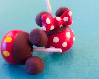 Mix & Match Earring - candy apple