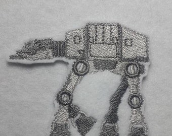AT-AT finger puppet embroidery design