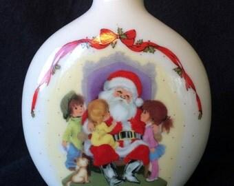 Moppets Fran Mar Christmas Bud Vase