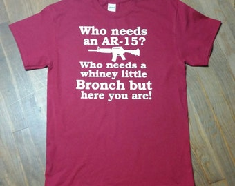 Gun Shirt-AR 16 Gun Tee