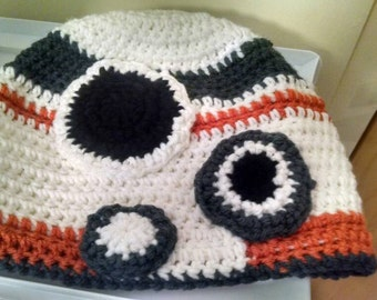 Crochet BB-8 hat