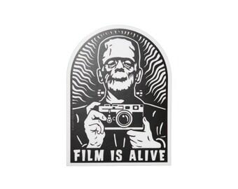 Film Is Alive Version 2 Vinyl Sticker