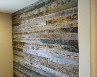 Tobbaco grey barn wall