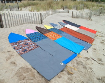 Custom Surf Socks + Board Bags