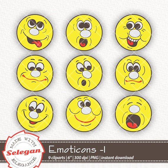 Emoji Happy Face Printable Cupcake Toppers