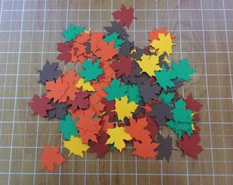 Fall Leaves 100 piece confetti