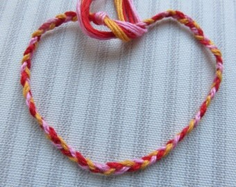 Custom Double Braid Woven Friendship Bracelet
