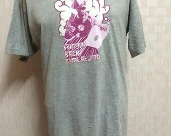 Vintage STUSSY Tshirt Large Size Hip Hop Skate Street Wear