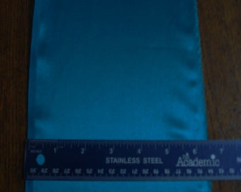 100% Silk Charmeuse - Sueded - Teal