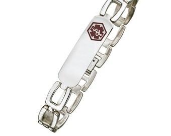 Stainless Steel Medical ID Bracelet -  SSB724MED