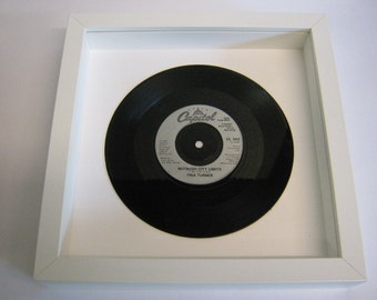 "Tina Turner - ""Nutbush City Limits"" - Framed Record"