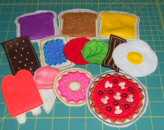 Last chance, listing expires today!!!    American Girl, felt food, sized for AG doll