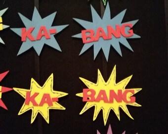 KABANG! action hair clips