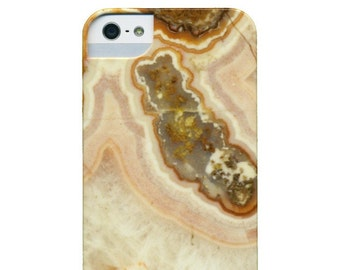 iPhone / Cell Phone Case - Mineral Pink Agate Gemstone Photograph - Pink Agate
