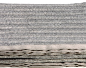 spring king size blanket coverlet pure cashmere striped design dana color grey brown
