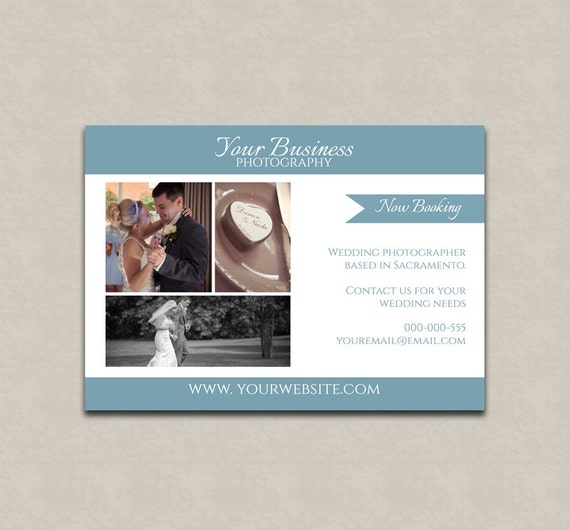 Extrêmement Wedding photoshop marketing template, wedding photographer flyer  VN65