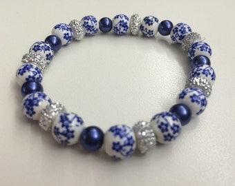 Blue Garden Bracelet