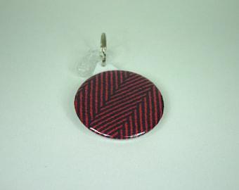 Babywearing mirror / Didymos Lisca Viola wrap / pocket mirror / key ring