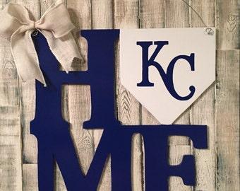 Kansas City Royals Door Hanger