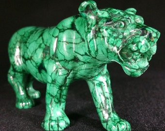 malachite lioness.