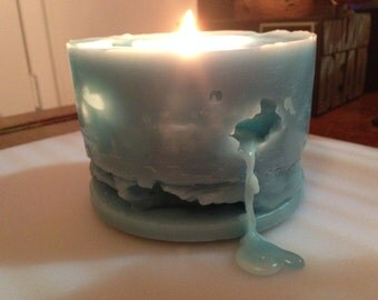 Swiss Cheese Candle