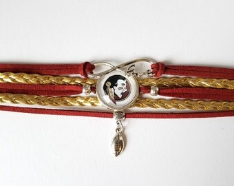 Florida State Seminoles bracelet - Noles - FSU - university - football