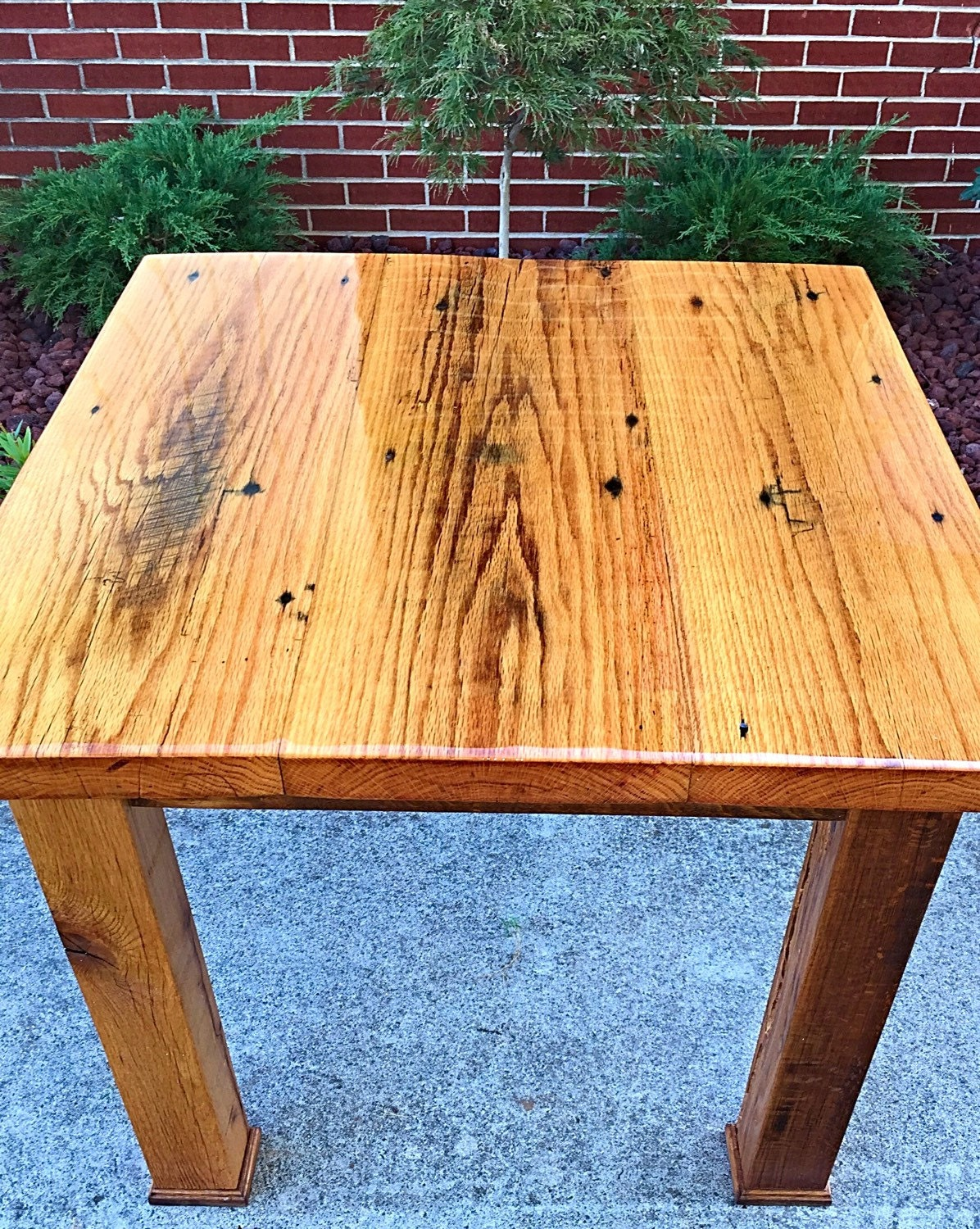 Kitchen table Barnwood breakfast table by TheDavidsonDesign : ilfullxfull948331152fe3z from www.etsy.com size 1196 x 1500 jpeg 740kB