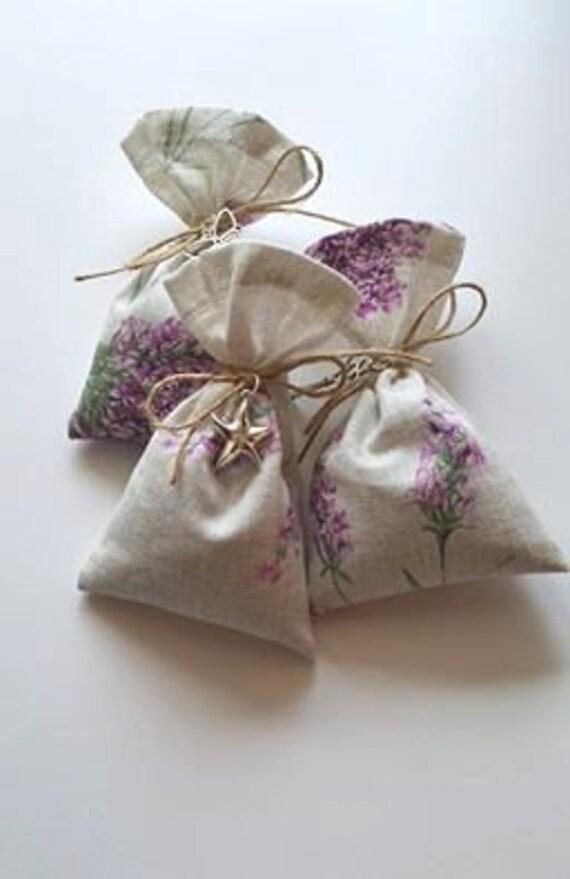 Buy 3 Get 1 Free, Set of 3 Lavender Sachet Favor, Party Favor, Wedding Favor, Lavender sachet, Lavender bags, Gift sachet Lavender