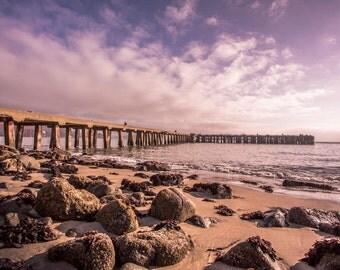 Morning Art Print, Large Wall Art, Torpedo Wharf, San Francisco Photography, Landscape Photograph, California Art Print