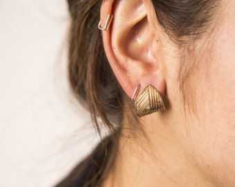 Handmade bronze Earrings