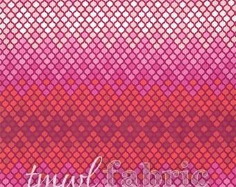 Woven Fabric - Tula Pink Eden Magenta Mosaic - Fat Quarter Yard +