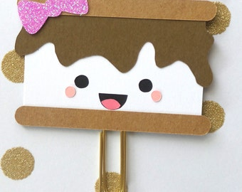 S'more PlannerClip/S'more Bookmark/ PaperClip/ Planner Accessories