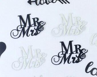 Wedding Confetti - Custom Wedding Confetti - Mr. & Mrs. Confetti - Custom Confetti - Confetti