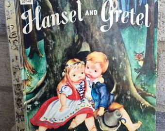 A Little Golden Book, Hansel and Gretel