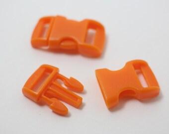B0008/Orange/Bracelet Making Clip/15x28mm/5pairs