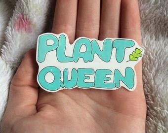 Plant Queen Brooch