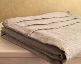 Linen duvet cover, US size duvet cover, natural linen duvet, natural linen color, oatmeal linen duvet, oatmeal duvet