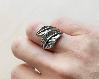 Leaf Wrap Ring FA-05