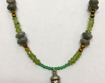 Indisha buddha necklace