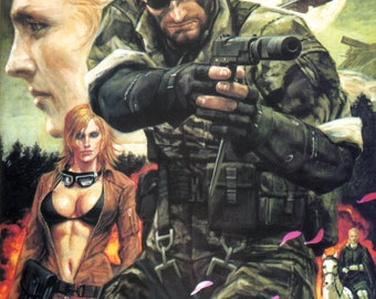 Metal Gear Solid 3: Snake Eater Video game POSTER