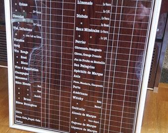 Panel bar vintage