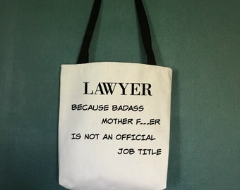 Law School Tote Bag, Gifts for Lawyers, Law School Graduation Gifts, Gifts for Attorneys,  Attorney Gifts