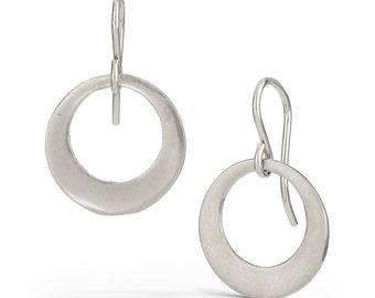 60'S Hoops - Sterling Silver