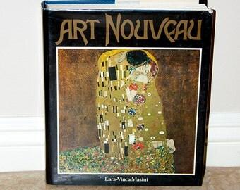 Art Nouveau, Hardcover book by Lara-Vinca Masini 1987