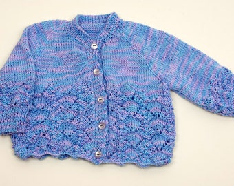 Girl's Lacy Cardigan