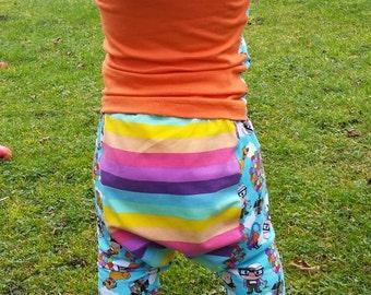 Harem pants /drop crotch pants