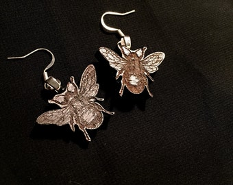 Lasercut Bee Earrings