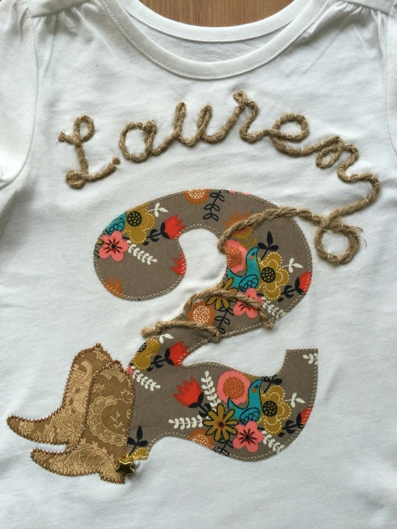 Cowboy or Cowgirl Rodeo Tee with Rope Name